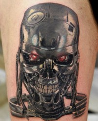 Denis Torikashvili Tidan best of tattoo geek terminator