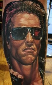 Bryan Merck best of tattoo geek terminator