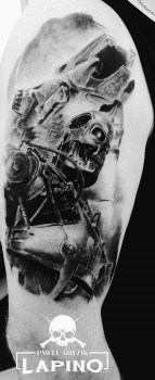 "Pawel G""Lapino"" best of tattoo geek terminator"