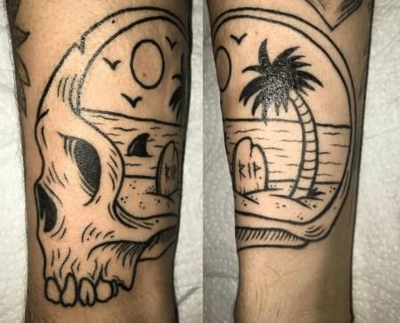 Andy Maius best of tattoo geek beach