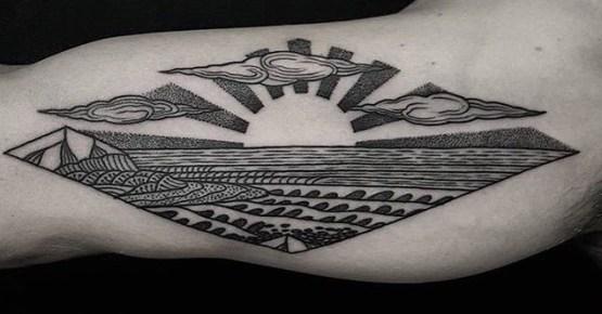 Tristan best of tattoo geek beach