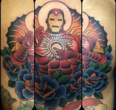 Tuan Le best of tattoo iron man