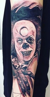 Anrijs Straume best of tattoo it ca pennywise clown horror movie float