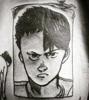 Pablo Casal best of tattoo geek akira