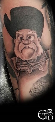 Gavin Underhill Best of Tattoo Toy Story
