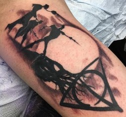 Jerry Torres Best of Tattoo Harry Potter