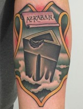 Nate Graves Best of Tattoo Harry Potter