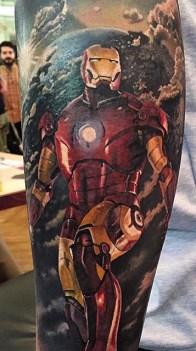 Steve Butcher best of tattoo iron man