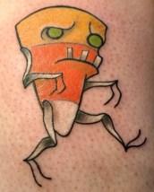 Electric Land Tattoo halloween geek corn candy best of tattoo