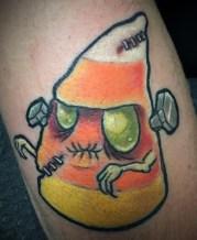 Bre Alex halloween geek corn candy best of tattoo