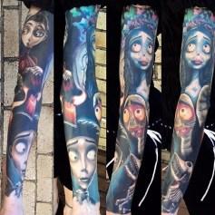 SkintastiC Tattoo best of tattoo corpse bride tim burton