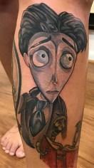 Steve Janusz best of tattoo corpse bride tim burton