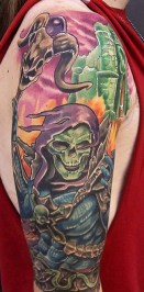Andrew Douglas Geek Best of Tattoo He Man Skeletor