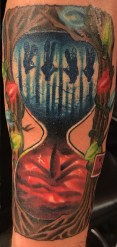 Jack Stapledon stranger things geek peau best of tattoo