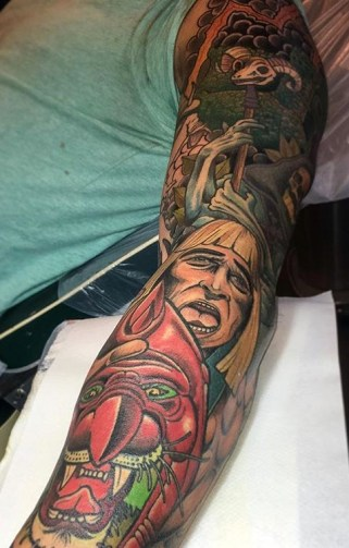 Johan 'Big Fat Joe' Ankarfyr Geek Best of Tattoo He Man Skeletor