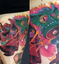 Marty McEwen Geek Best of Tattoo He Man Skeletor