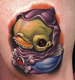 Steven Compton Geek Best of Tattoo He Man Skeletor