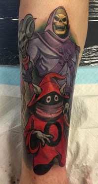 Geek Best of Tattoo He Man Skeletor