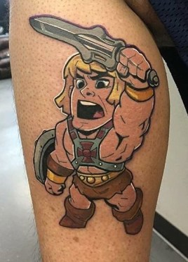 Urbans Jr Geek Best of Tattoo He Man Skeletor