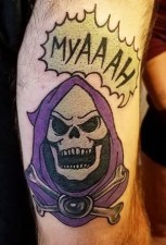 WonderlanD Tattoo Geek Best of Tattoo He Man Skeletor