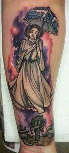 Saraloni best of tattoo star wars leia