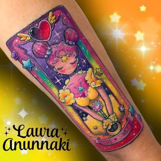 Laura Anunnaki Best of Tattoo Sakura Card Captor manga tattoo geek