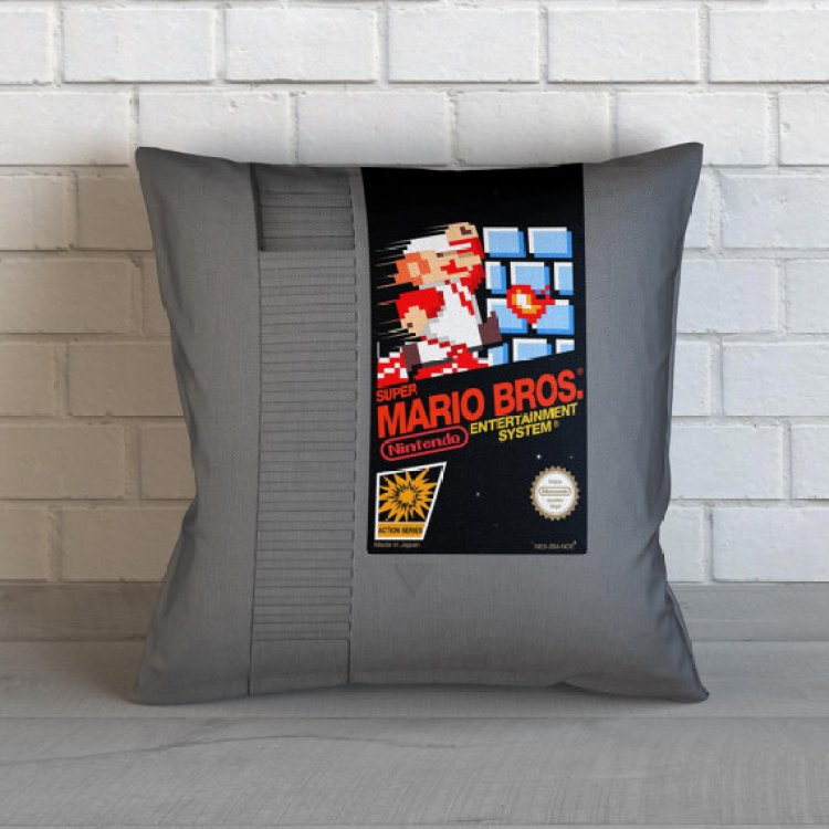 Tom's Selec - coussin cartouche NES