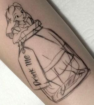 Ivan Vinicius geek tattoo best of tattoo alice wonderland pays merveilles