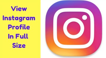 How To View Anyone`s Instagram Profile Picture In Full Size without any Third-Party App