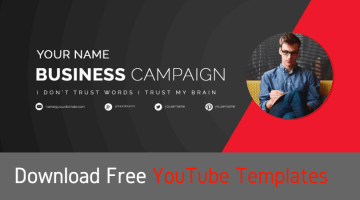 Download Free YouTube Templates For YouTube Channels