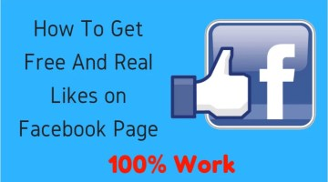Facebook Page Par Likes Kaise Badhaye (Ek Din Me 1K Likes Badhaye)