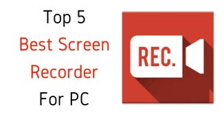 Top 5 Best Screen Recorder For PC ( Free Screen Recorders For PC)