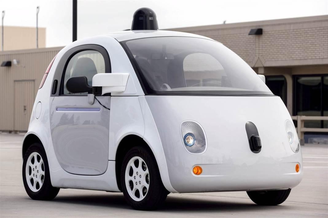 Google Car,Car Without Driver Image