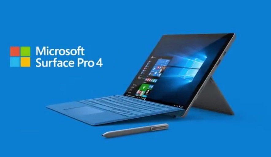 Microsoft Surface Pro 4 Images