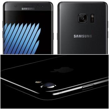 Galaxy Note 7 Design V/s iPhone 7 Design