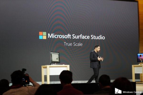 Microsoft Surface Studio: True Scale Display
