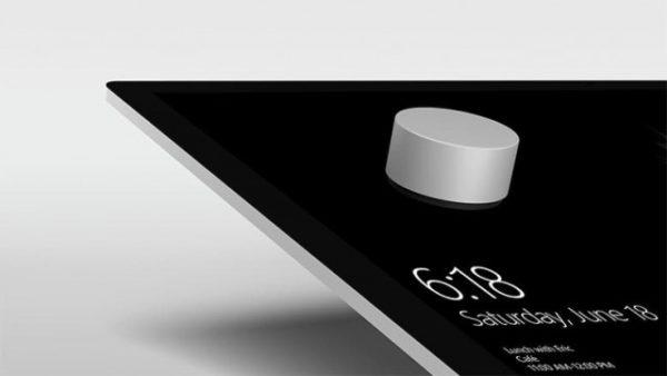 Microsoft Surface Studio: Dial