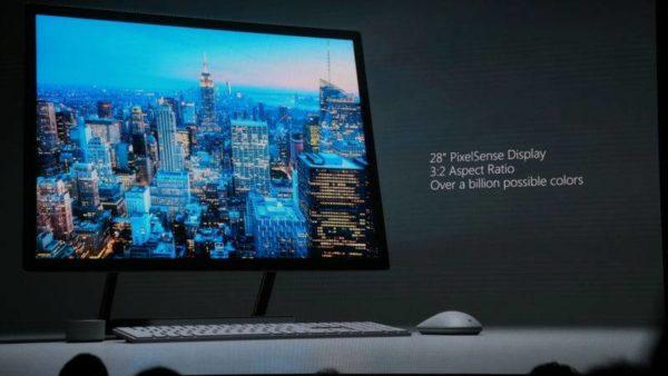 Microsoft Surface Studio: Brighter Display