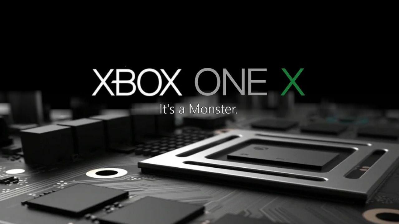 Microsoft Xbox One X Finally Powerful Console Arrives