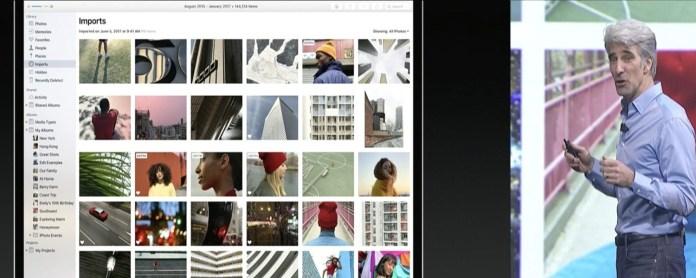 macOS High Sierra Photos App Improvement