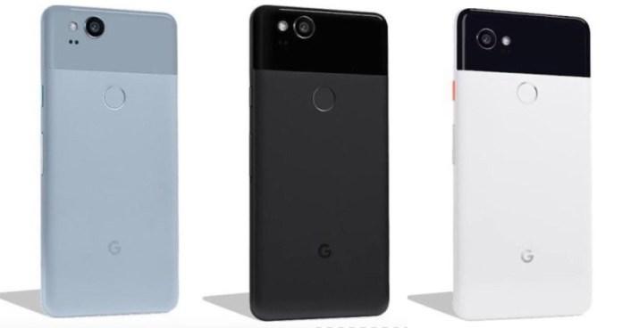 Google Pixel 2 Color Availability