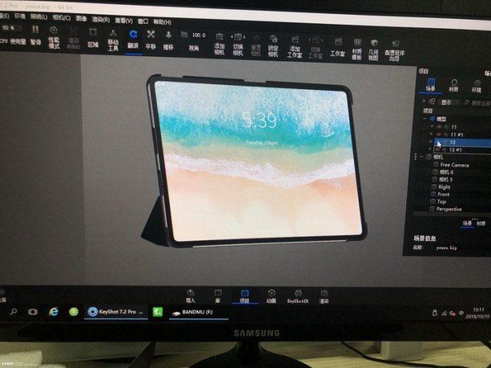 iPad Pro 2018 Case Maker Diagram Leaks
