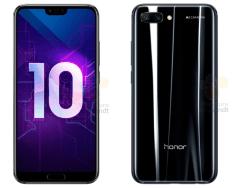 Honor 10 in colorazione Nero