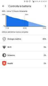 Screenshot 4 batteria ticwatch