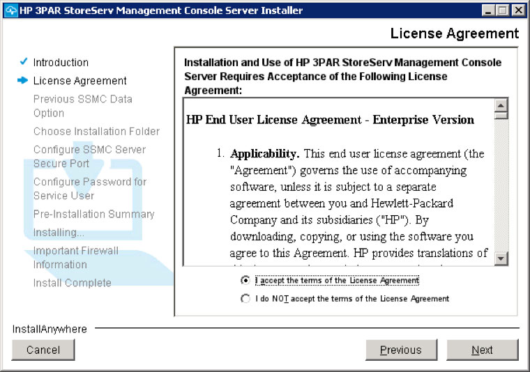 Installing and Configuring HP 3PAR StoreServ Management