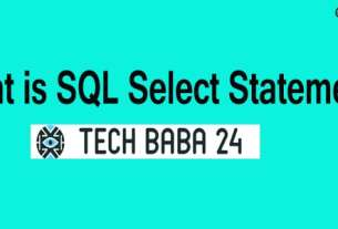 What is SQL Select Statement