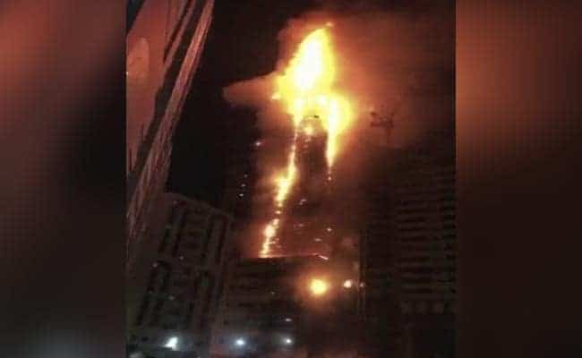 Sharjah Fire