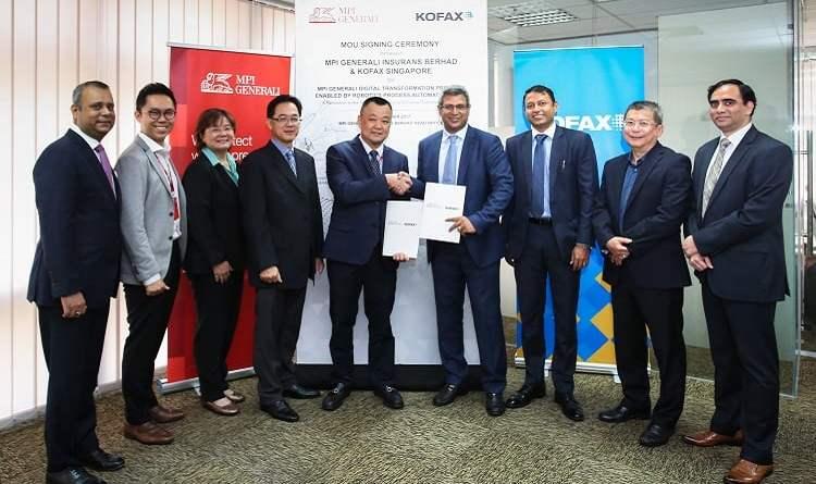MPI Generali and Kofax Signing Ceremony