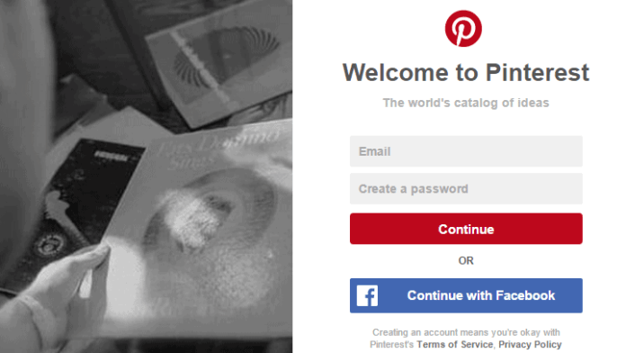 How To Do Pinterest Account Login With Facebook Account 2020