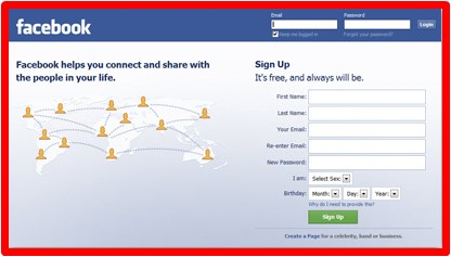 How Can I Facebook Open New Account Registration